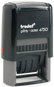 Trodat 4750 2 Color Dater